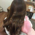 傷まないデジタルパーマで艶のある柔らかい髪へ改善♪熊谷市の髪質改善美容室ハルト