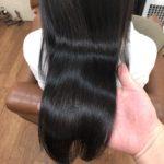 細くて痛みやすい髪でもストレートに♪ハリのある健康的な艶髪へ♪熊谷市の髪質改善美容室ハルト