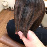 毎月のトリートメントで髪がチリチリに…ストレートで修正していきます。熊谷市の髪質改善美容室ハルト
