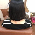 縮毛矯正がこわい…噂のメニューで補修しながら丸みのあるストレートに♪熊谷市の髪質改善美容室ハルト