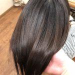 癖とスキバサミですかれすぎて広がってしまうY様。傷まない縮毛矯正で自然にまとまるストレートへ。熊谷市の髪質改美容室ハルト