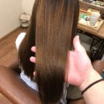 自然にまとまる縮毛矯正。ダメージを修復しながら艶髪に♪髪質改善美容室ハルト