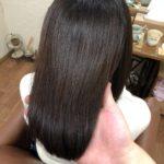 クセ、伸ばし中でまとまらない…そんな髪にもストレートリペアメント♪上手に伸ばせる艶髪へ。熊谷市の髪質改善美容室ハルト