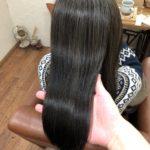 ポワポワする傷みやすい髪でもストレートで自然にまとまるツヤ髪へ♪傷まない縮毛矯正。熊谷市唯一の髪質改善美容室ハルト