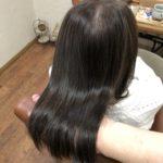 ダメージと癖で広がる加齢毛さん。髪質改善カラーでまとまる髪へ♪熊谷市唯一の髪質改善美容室ハルト