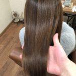 剛毛ハイトーンダメージさんでもしなやかにまとまる縮毛矯正♪熊谷市唯一の髪質改善美容室ハルト