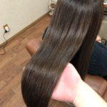 加齢毛で傷みやすい髪でも安心。自然にまとまる縮毛矯正♪ 熊谷市唯一の髪質改善美容室ハルト